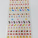 Mind Wave Mini Sweets and Tea Time Sparkly Sticker Sheet