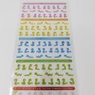 Mind Wave Mini Lucky Snakes Colorful Sparkly Sticker Sheet