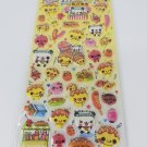 Kamio Takoyaki Stand Festival Glitter Puffy Sticker Sheet