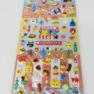 Kamio Cat Festival Foods Puffy Sticker Sheet