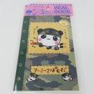 Q-Lia Military Army Panda 6-Ring Organizer Sticker Album