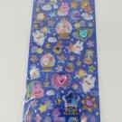 Q-Lia Twinkle Soiree Bunny Globes Glittery Hard Epoxy with Rhinestones Sticker Sheet