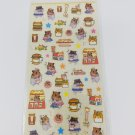 Q-Lia Hamsters and Hamster Fast Foods #2 Sticker Sheet