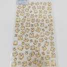 MD You Mini Hamsters Galore Glittery Sticker Sheet