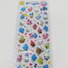 Q-Lia Shizuku Chan White Daily Life Glittery Sticker Sheet