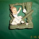 Adorable Little Girl figurine / bud vase