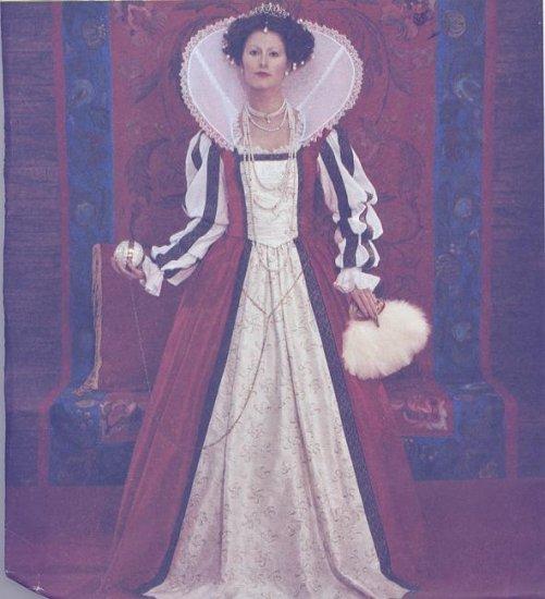 McCall's Costume Pattern 4028 Queen Elizabeth  Sizes 14-20