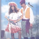 Pirate and Wench Adult Costumes Sewing Pattern Butterick 6731