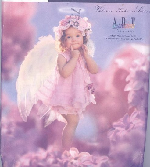 Valerie Tabor Smith Angel Fairy Costume Sewing Pattern Simplicity 8833 Children Sizes ½-4