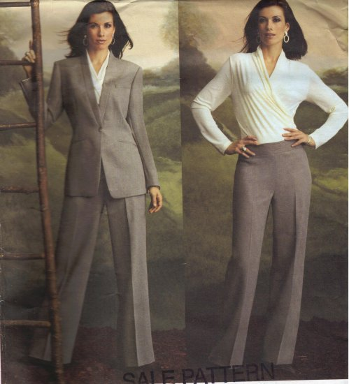 Vogue Sewing Pattern 2759 Anne Klein Jacket, Top and Pants Sizes 18-22