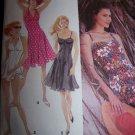 Halter Dress, Bathing Dress, Panties Simplicity Sewing Pattern 8424 Womens Plus Size