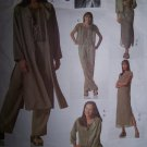 Adri Jacket, Duster, Dress, Top, Slip Vogue Sewing Pattern 2148 sizes 18-22