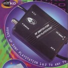 nYko Game Switch RF Adapter Switch PS-80024 (PS80024) for Playstation 1 or 2-  NIB + FS