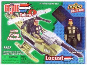 G.I. Joe vs Cobra LOCUST w Hollow Point - New BTR # 6502 + FS