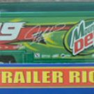 Nascar Jeremy Mayfield Die Cast Trailer Rig #19 Mt Dew 1/64 NIB - 2002 - FREE SHIPPING!