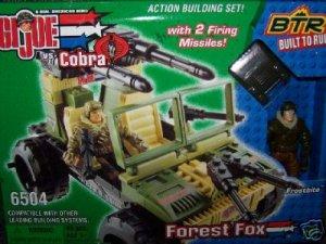 G.I. Joe vs Cobra Forest Fox w/ Frostbite - New BTR # 6504 + FS