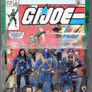 GI Joe 3 Pack + #1 Comic Reprint Cobra Commander+Baroness+Cobra Trooper - MOC + FS