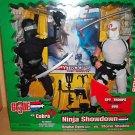 """GI JOE 12"""" NINJA SHOWDOWN SNAKE EYES VS. STORM SHADOW + SPY TROOPS DVD - NIB"""
