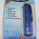 MICRO BLUE 3 LED FLASHLIGHT 3AAA BLUE - NEW + FREE SHIPPING!