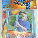 "DC Superman Inflatable 20"" Mallet - NIP + FS"