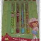 Strawberry Shortcake Mini Gel Pens 4pc - NIP + FREE SHIPPING!