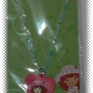 Strawberry Shortcake Beaded Blue Necklace With Pendant - NIP & FREE SHIPPING