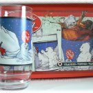 5 Coca-Cola Glasses 16 Oz Cubs and Seal - Indiana Glass - Vintage Coke - NIOB & FREE SHIPPING