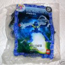 2007 McDonalds Happy Meal Toy BIONICLE MAHRI Toa Hahli #6 - NIP & FREE SHIPPING