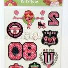 Strawberry Shortcake Sheet of Temporary Tattoos - NIP & FREE SHIPPING!
