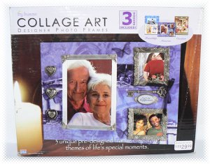 Tiny Treasures Collage Art Designer Photo Frames - 3 Designs Included - NIB & FREE SHIPPING