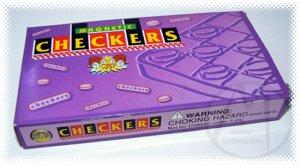 Magnetic Travel Checkers Game Pocket Travel Game #552 - NIB + FREE SHIPPING