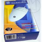 GE Three Button Mouse PS/2 HO98801 - NIP + FREE SHIPPING