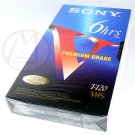 SONY T-120VF 6hrs EP BLANK VHS TAPE - PREMIUM GRADE  – NIP + FREE SHIPPING