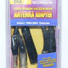 SCOSCHE FORD NISSAN VOLKSWAGEN + MORE! - Antenna Adapter #DIA  - NIP + FREE SHIPPING