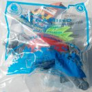 2010 McDonalds Happy Meal Toy Megamind #4 Snapper Brainbot - NIP & FREE SHIPPING