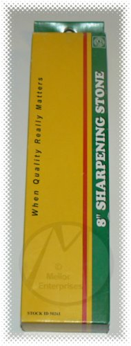 "8"" SHARPENING STONE FOR KNIFE, HATCHETS, HAND TOOLS - NIP & FREE SHIPPING!"