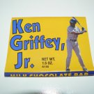 1989 KEN GRIFFEY JR. RC Candy Bar Wrapper Yellow version Pacific Candy Co