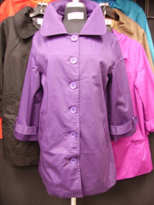 R99005 Trench Coat Solid Colors