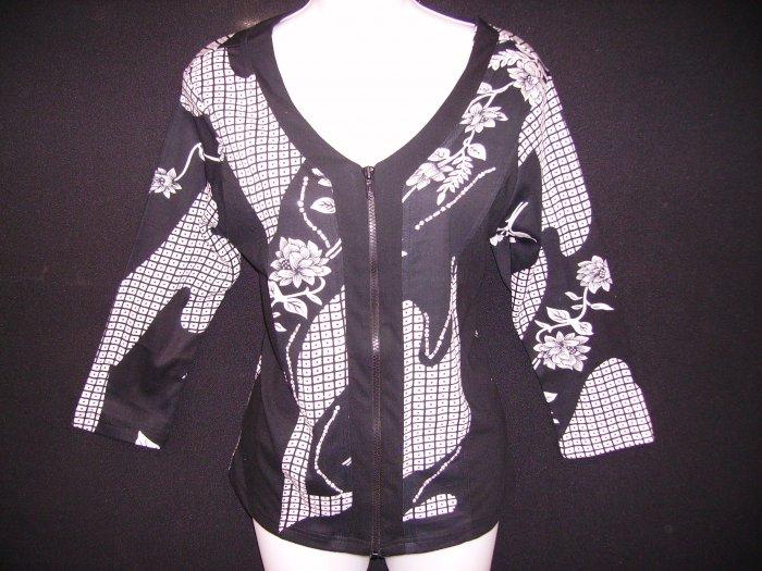 JKZ-21083 SHana K Floral Print Jacket