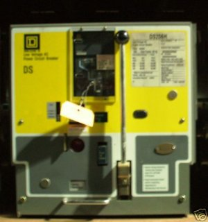 Square D DS206H power air circuit breaker