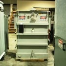 Square D 1000kVA 13800-480/277 substation transformer