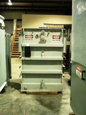 Square D 1000kVA 13800-480/277 substation transformer