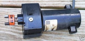 Bodine motor 29RPM,180VDC 24A4BEPM-D3