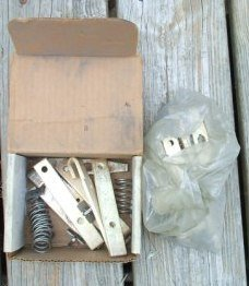 Contact kit SZ 4,5 Westinghouse CH motor starter 6-26-2