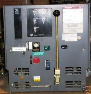 Westinghouse DS420 power air circuit breaker
