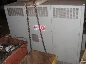 ABB 2000kVA, 13800V-480/277 V dry transformer