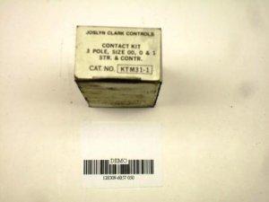 Joslyn Clark size 0 00 1 contact kit KTM31-1 NIB