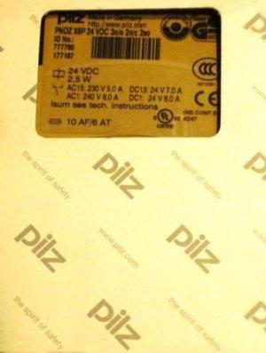 1 Pilz 24 vdc relay, type PNOZ X*P
