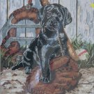 Rookie of the Year needlepoint kit by Linda Picken from Candamar Designs lab puppy sports 764