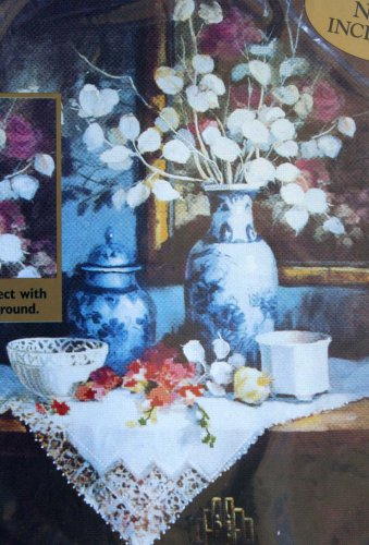 Lunaria and Lace by Maxine Johnston vintage enhanced cs kit floral still life Unopened 1620